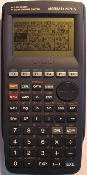 Casio algebra fx 2.0 plus